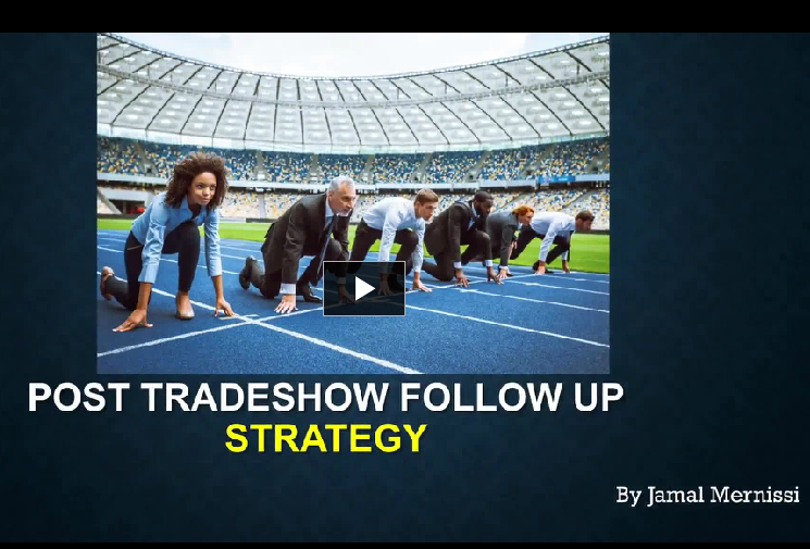 JAM|Post Tradeshow Follow Up Strategy|1.81H